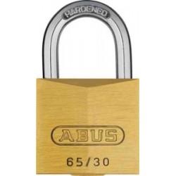 Abus 65/30 KA Hangslot gelijksluitend  (min. 4 stuks)